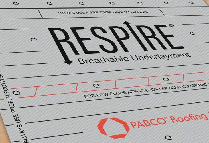 Respire® Underlayment