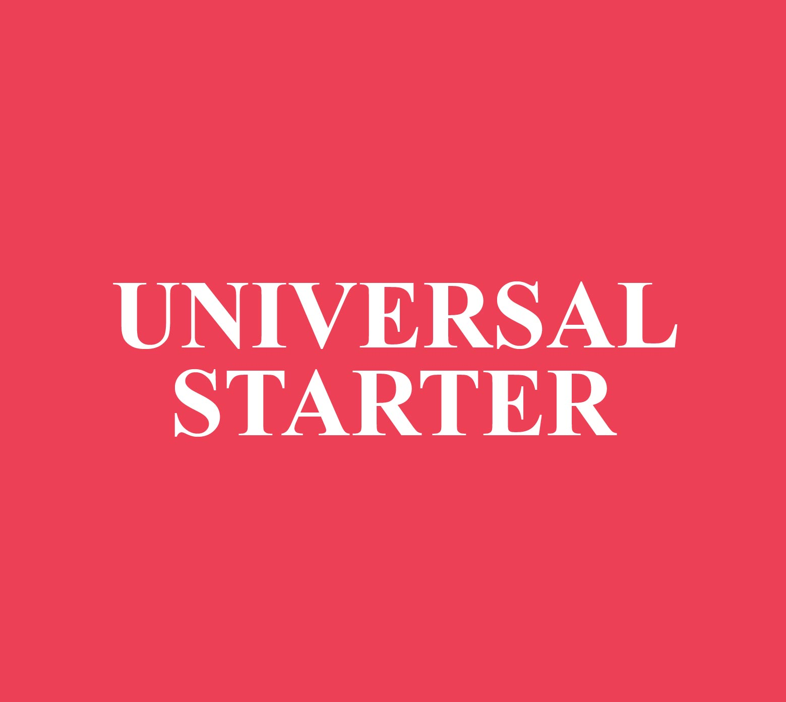 Universal Starter Roofing Shingle Accessories