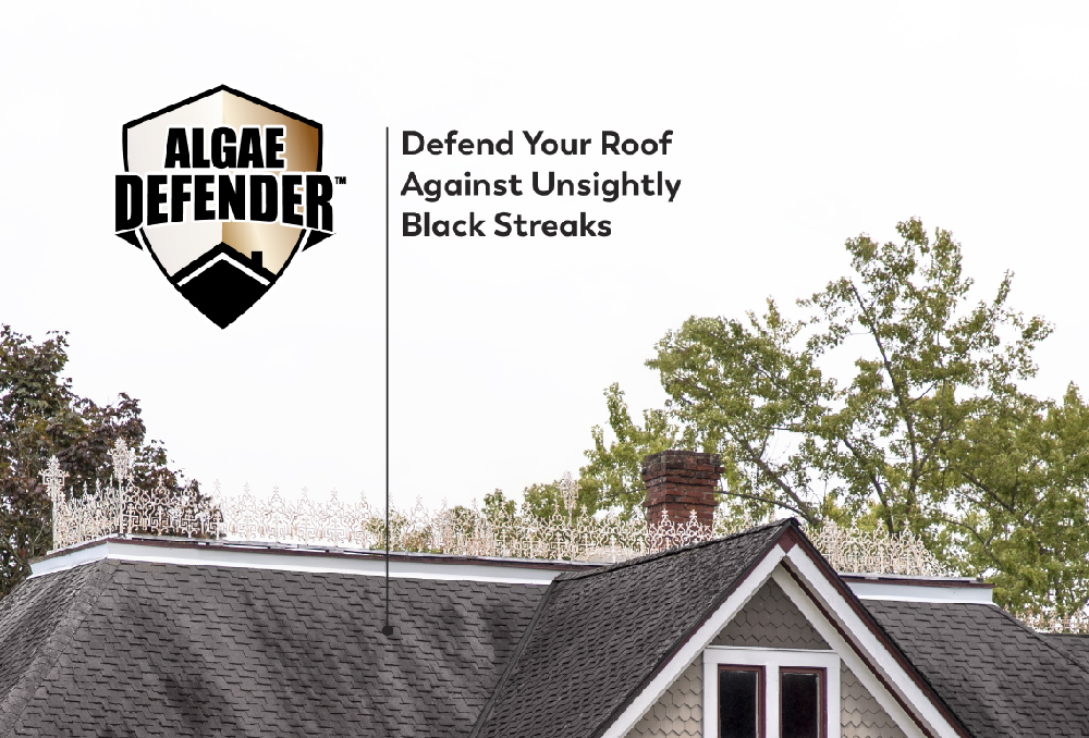 PABCO Roofing Products Now Feature Algae Defender