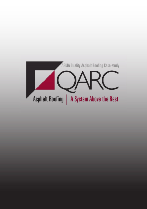 2013 Quality Asphalt Roofing Case-study (QARC) Winners
