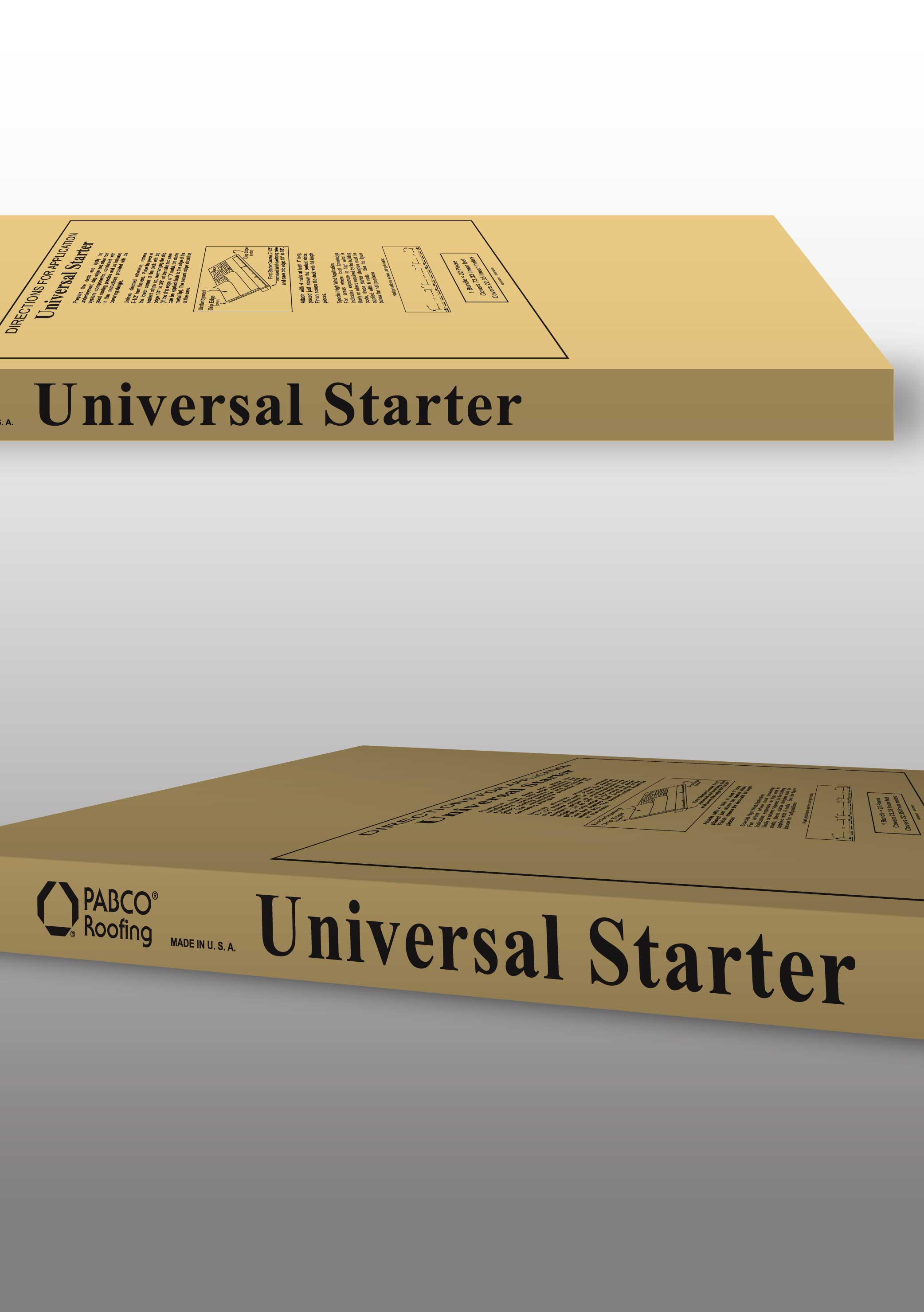 Get Started with PABCO® Roofing Product's New Universal Starter™ Shingles